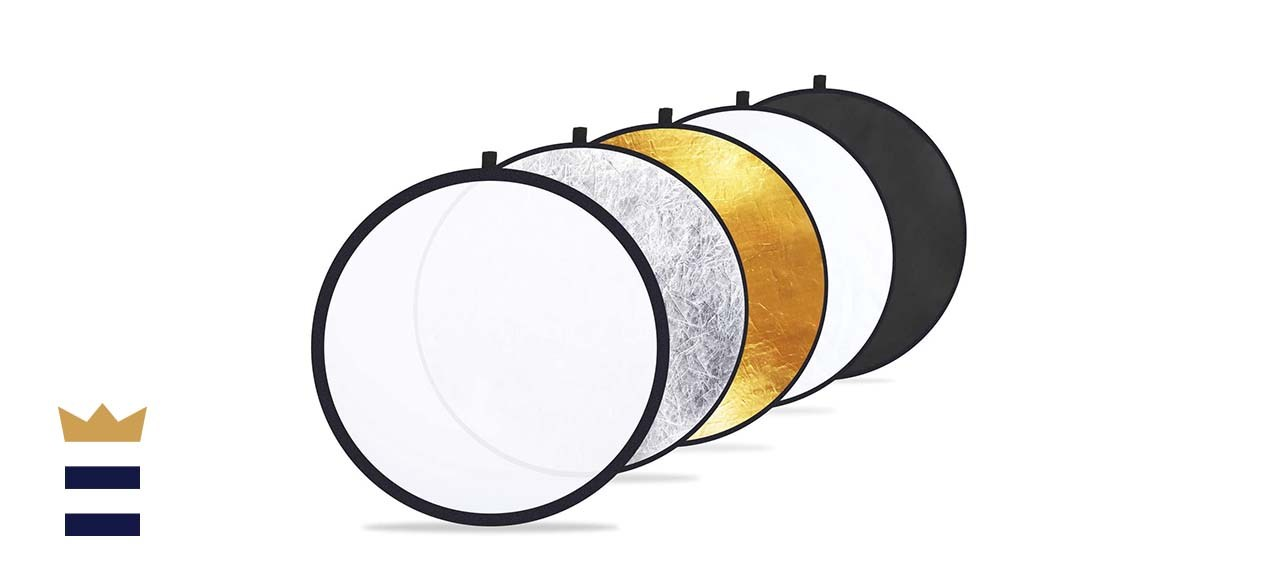 """Etekcity 24"""" 5-in-1 Light Reflectors for Photography"""