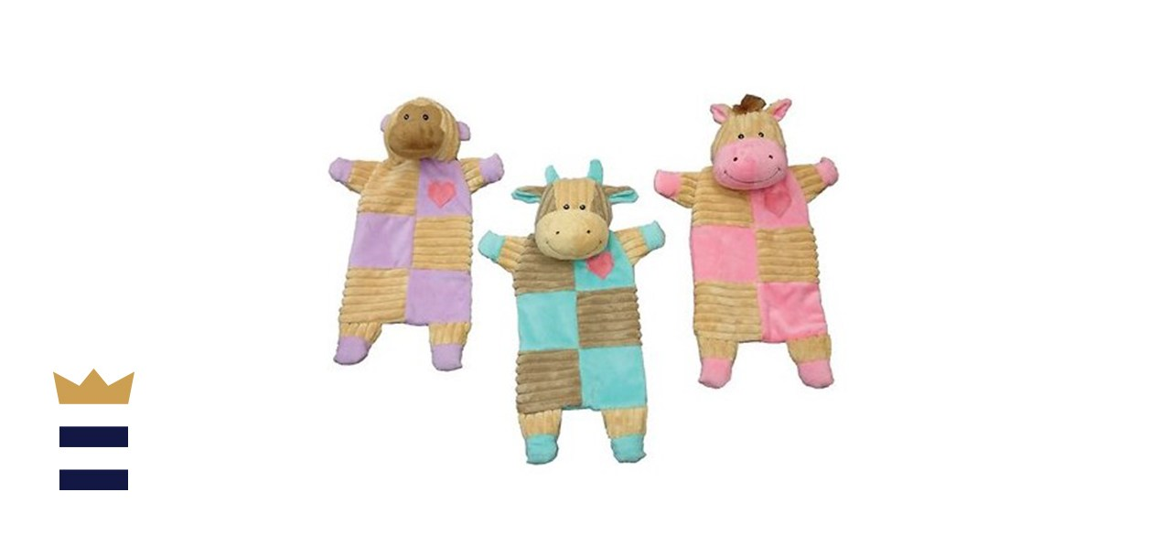 Ethical Pet Soothers Crinkle Plush Toy