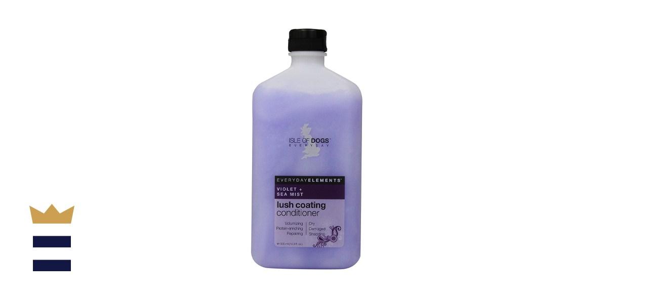 Everyday Isle of Dogs Lush Coating Dog Conditioner - Violet + Sea Mist Dog
