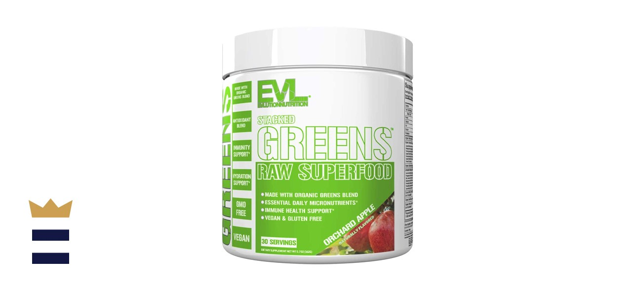EVLution Nutrition Stacked Greens Raw Superfood