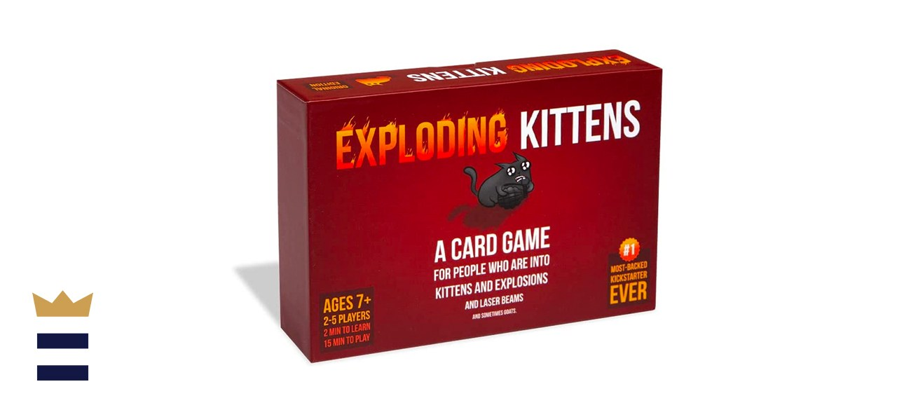 Exploding Kittens, A Russian Roulette Card Game