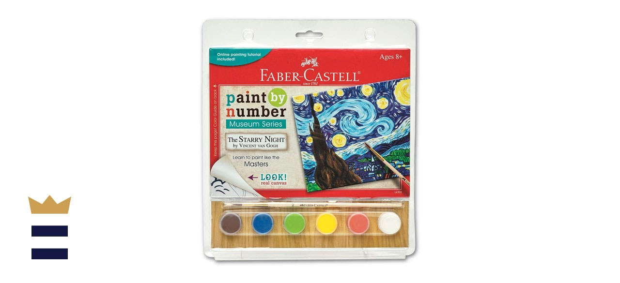 Faber-Castell Paint by Number Museum Series- Vincent Van Gogh, The Starry Night