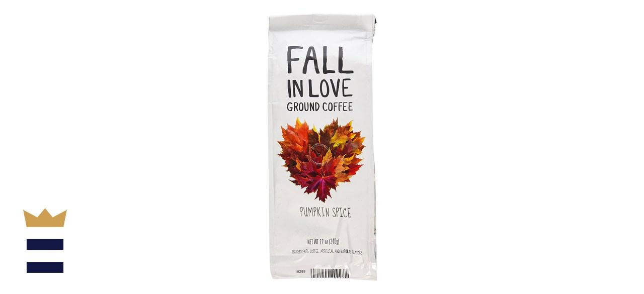 Fall In Love Pumpkin Spice Flavored Coffee