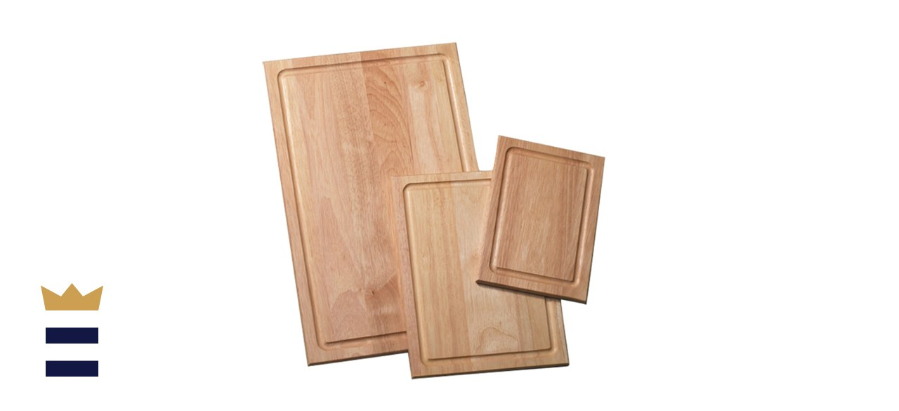 Farberware 3-Piece Wood Cutting Board