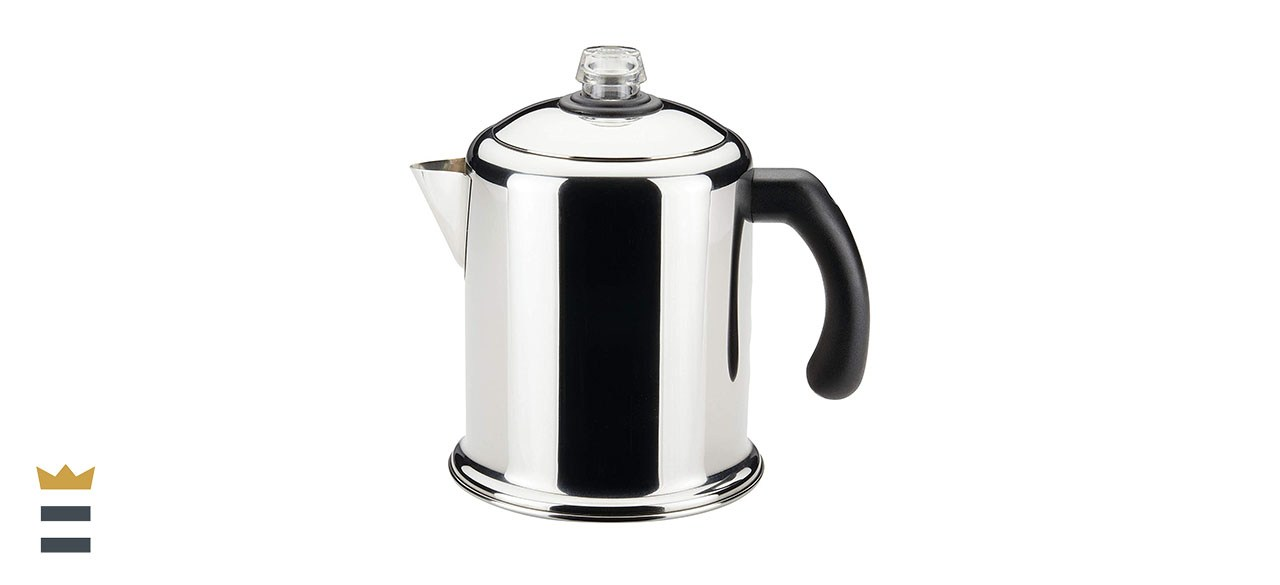 Farberware Classic Yosemite Stainless Steel Coffee Percolator