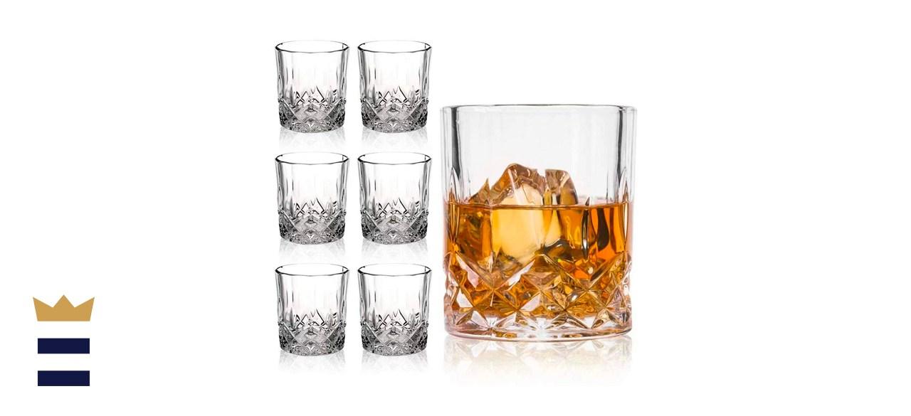 Farielyn-X Crystal Old Fashioned Whiskey Glasses