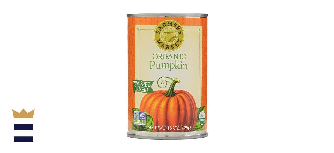 Farmer's Market Foods Canned Organic Pumpkin Puree