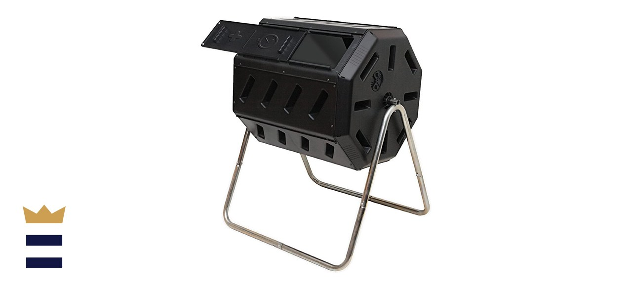 FCMP Outdoor Dual-Chamber Tumbling Composter – IM4000