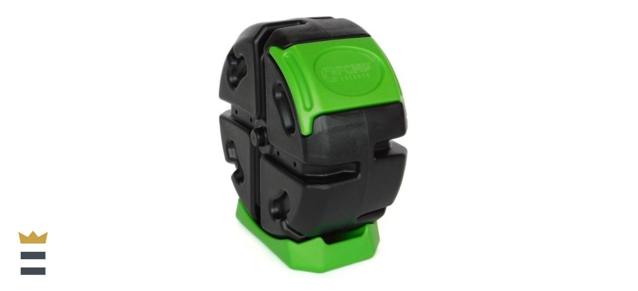 FCMP Outdoor Half Size Plastic Rolling Composter