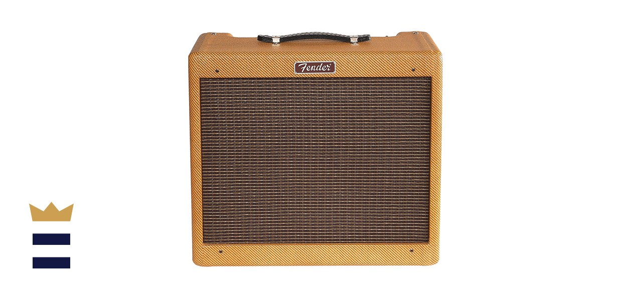 Fender C12N Blues Jr. 15-Watt Tube Amplifier with Reverb and Lacquered Tweed