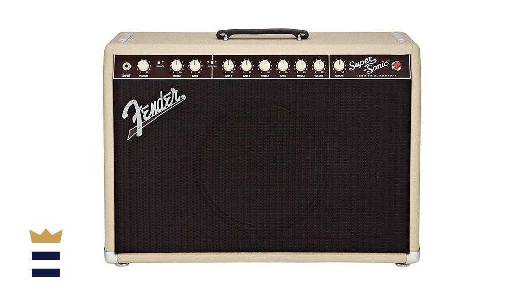 Fender Super-Sonic 22-Watt 1x12 with Eminence Lightning Bolt Speaker