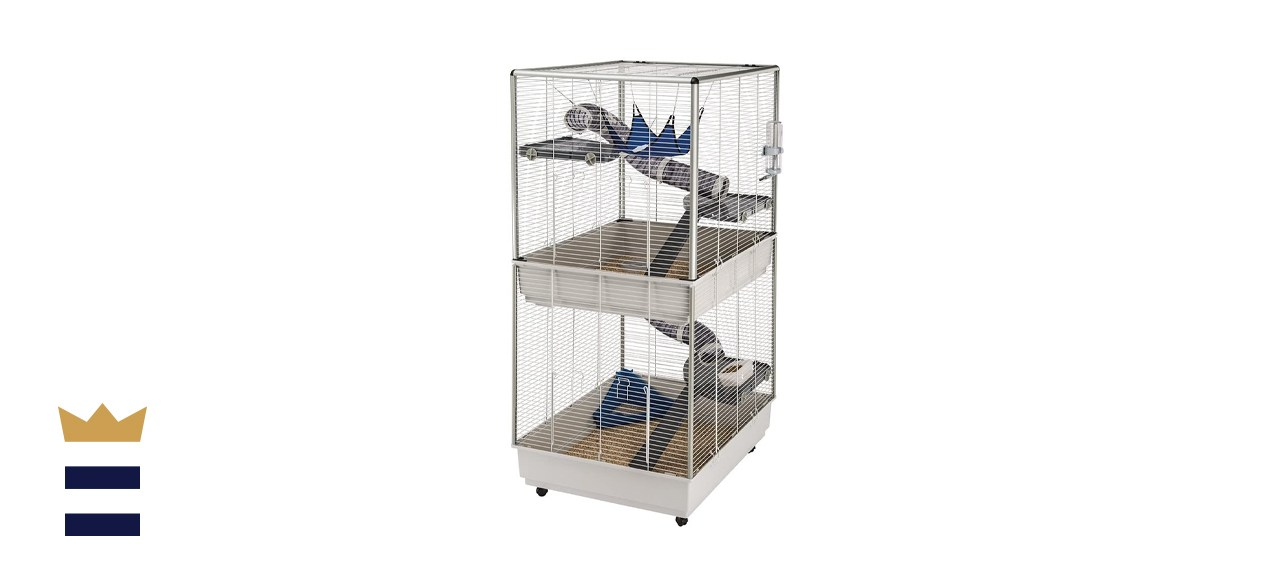Ferplast Two-Story Tower Ferret Cage