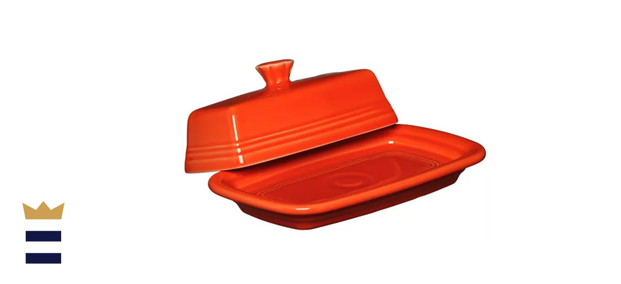 Fiesta Covered Butter Dish