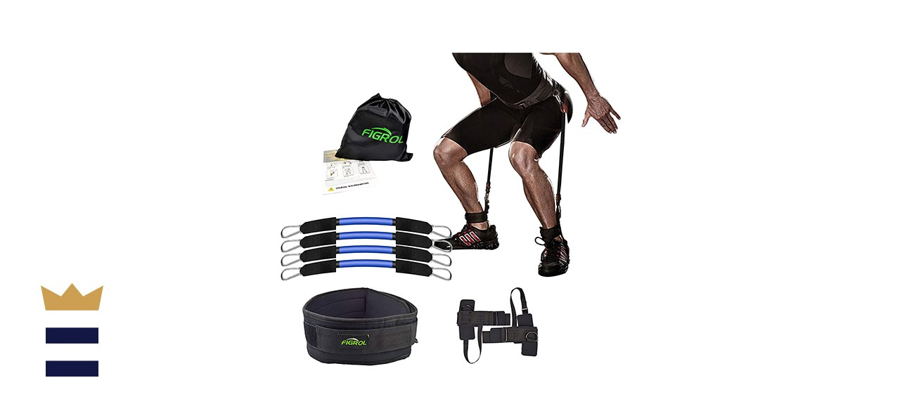 FIGROL's Vertical Bounce Trainer Leg Resistance Bands
