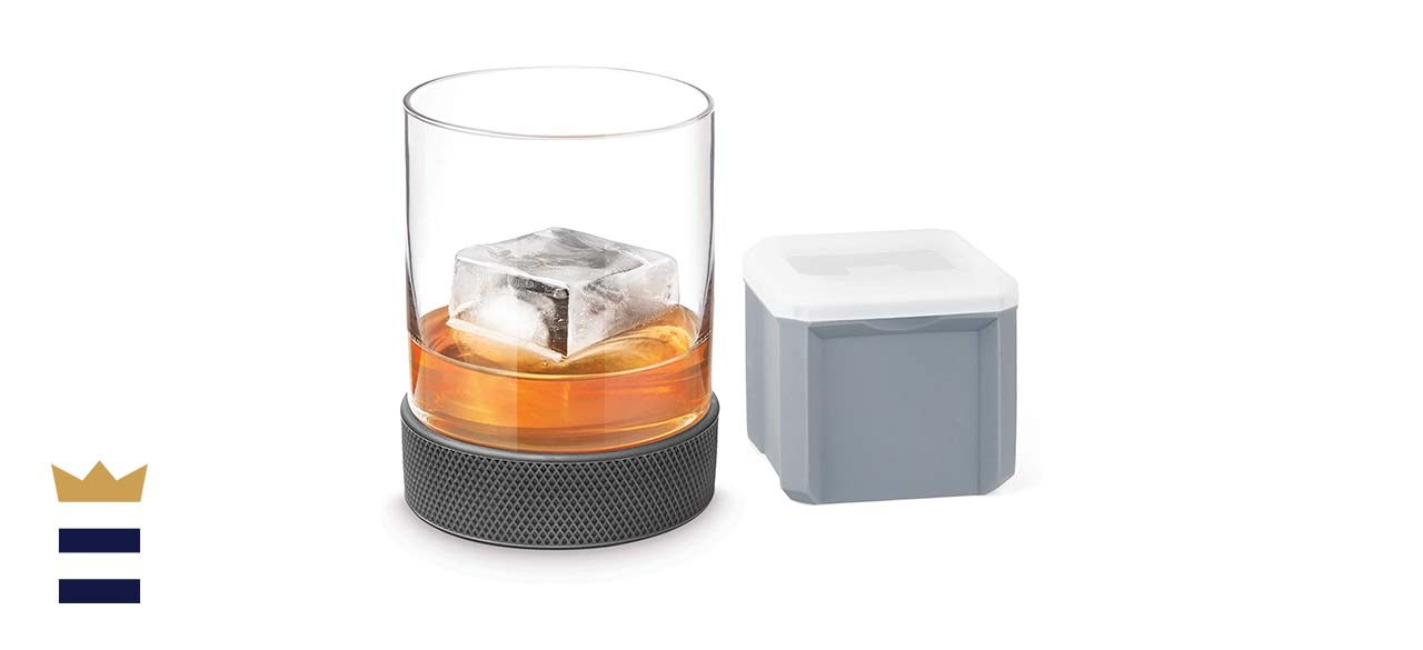Final Touch Breakaway Hockey Puck Tumbler with Ice Mold
