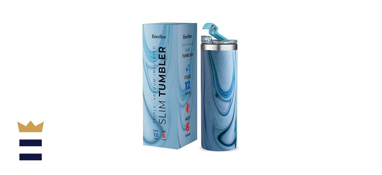 FineDine Insulated Skinny Stainless Steel Tumbler