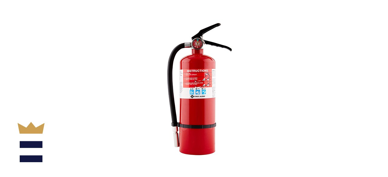 First Alert PRO5 Rechargeable Heavy Duty Plus Fire Extinguisher