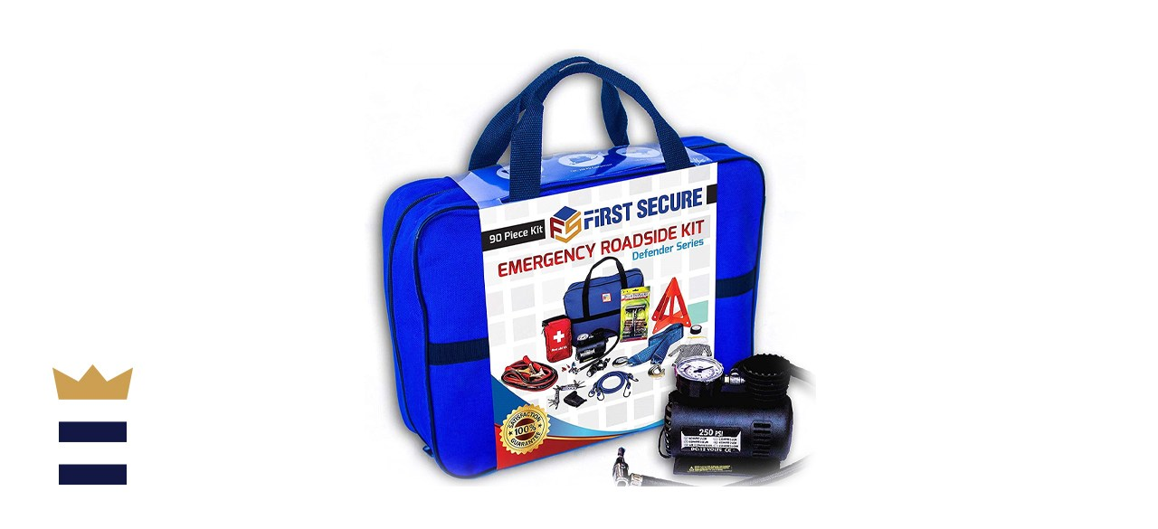 First Secure Car Emergency Kit First Aid Kit