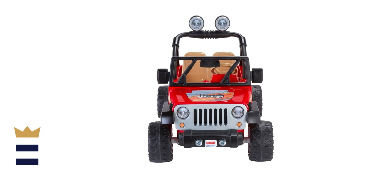 Fisher-Price Power Wheels Jeep Wrangler Ride-On Car