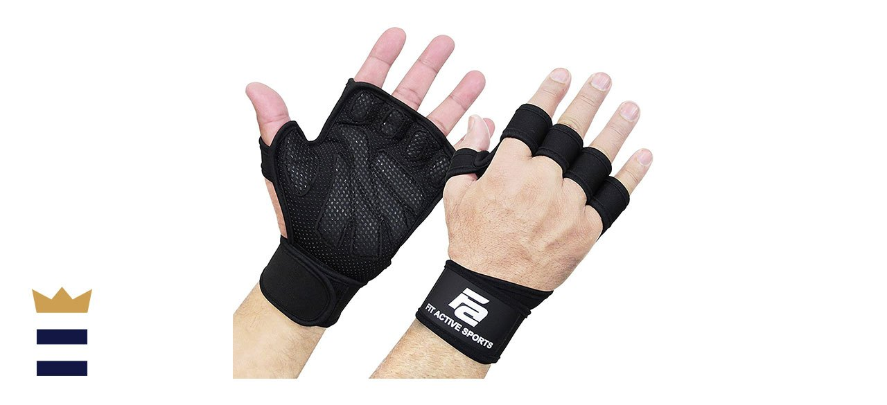Fit Active's Sports CrossFit Gloves