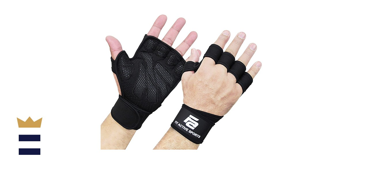 Fit Active Sports Workout Gloves