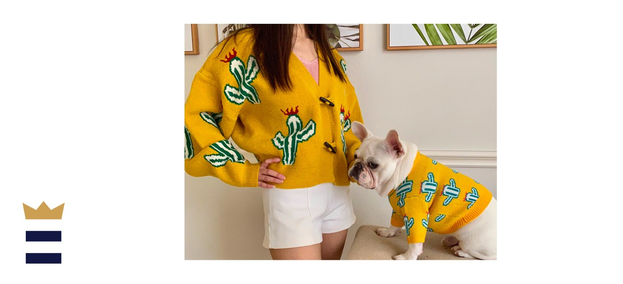 FitFrenchie Matching Pet Owner Set