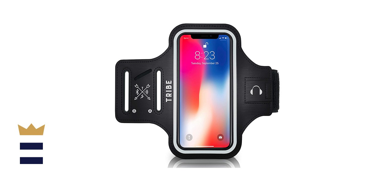 TRIBE Water Resistant Cell Phone Armband Case Running Holder