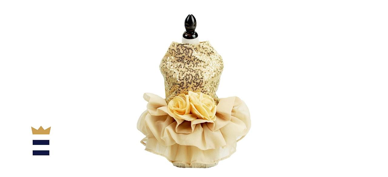 FLAdorepet Sequin Dress