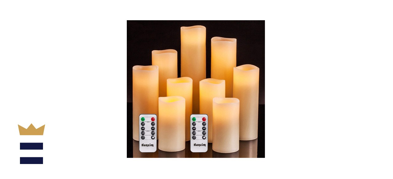 Flameless Flickering Battery Operated Candles