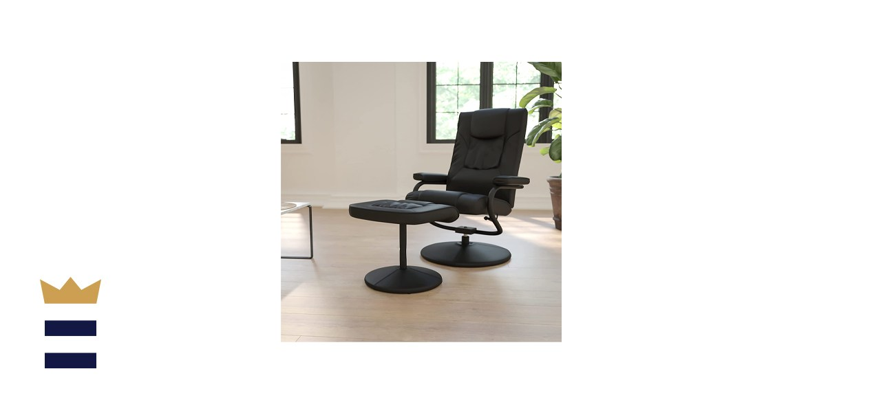 Flash Furniture Contemporary Leather Soft Recliner