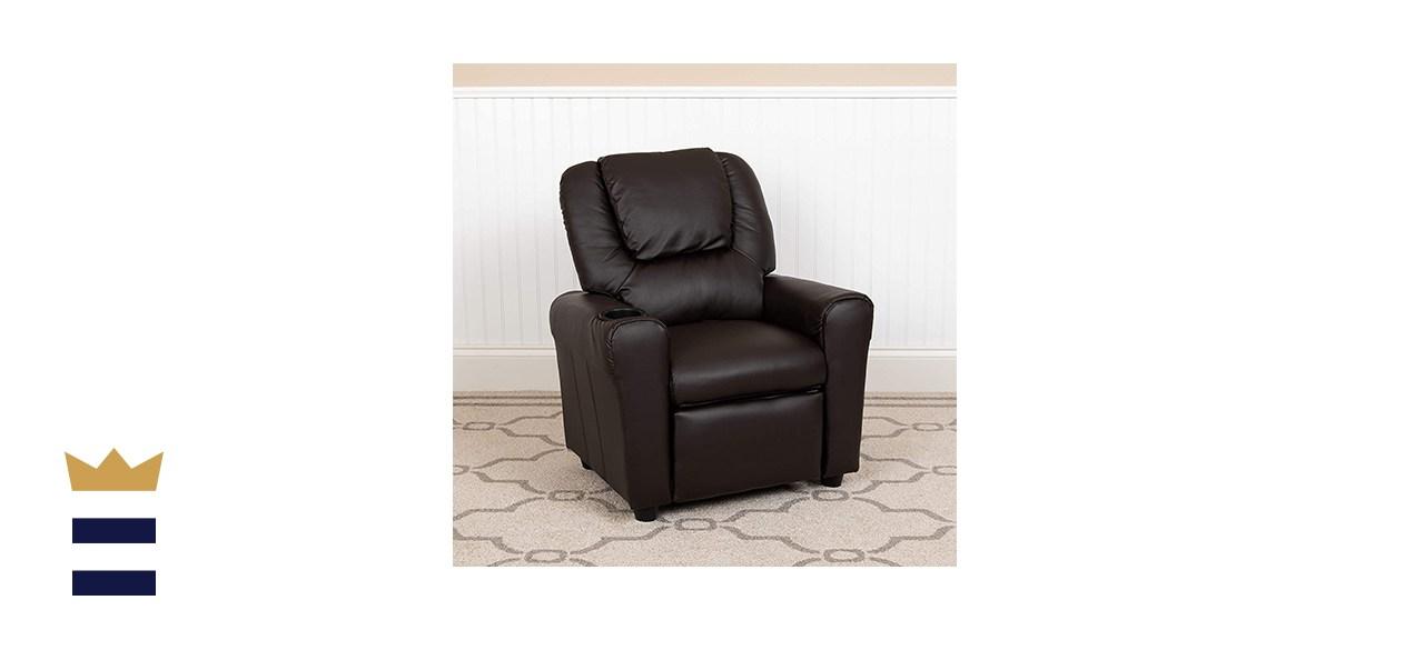 Flash Furniture LeatherSoft Kids' Recliner