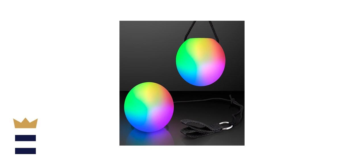 FlashingBlinkyLights Poi Balls