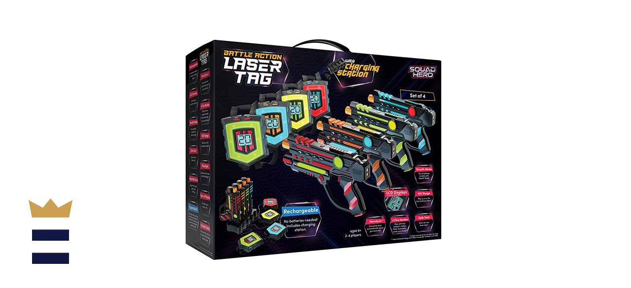 Rechargeable Laser Tag Set + Innovative LCDs and Sync