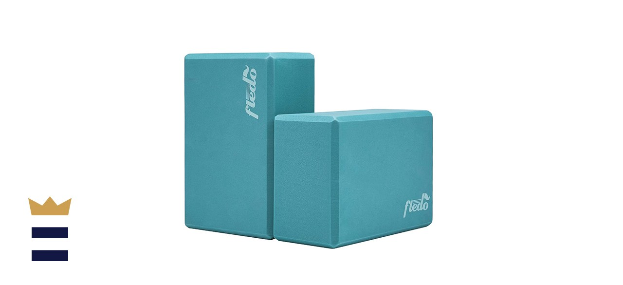 Fledo's Two-Piece Yoga Block Set