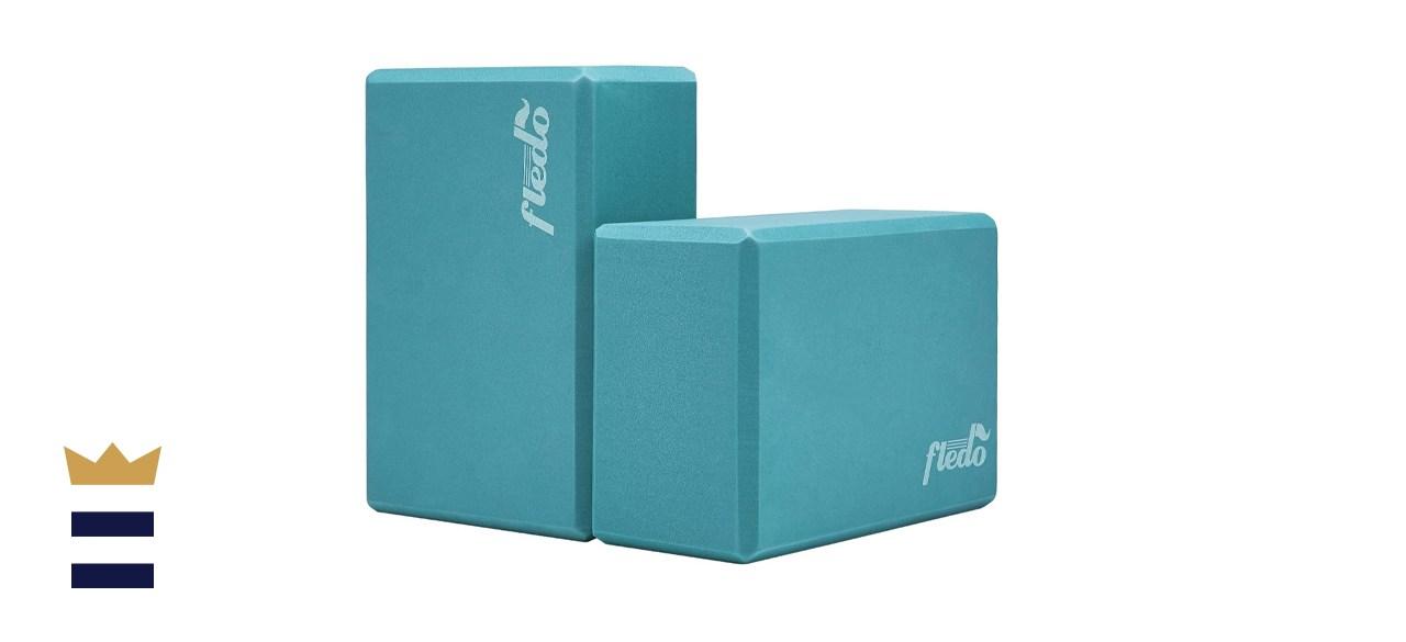 Fledo Two-piece Yoga Blocks
