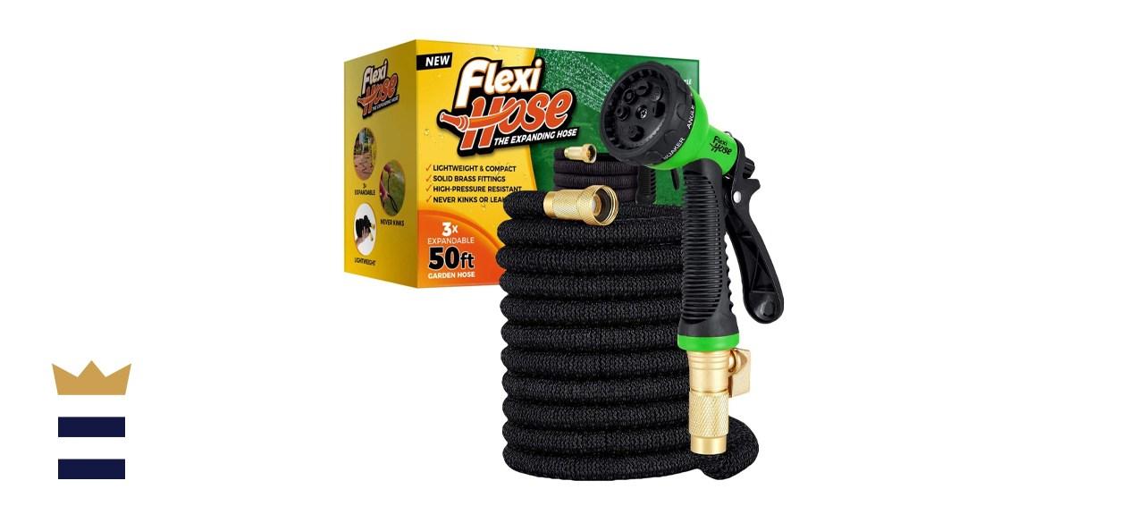 Flexi Hose 50-Foot Expandable Garden Hose & 8-Function Nozzle