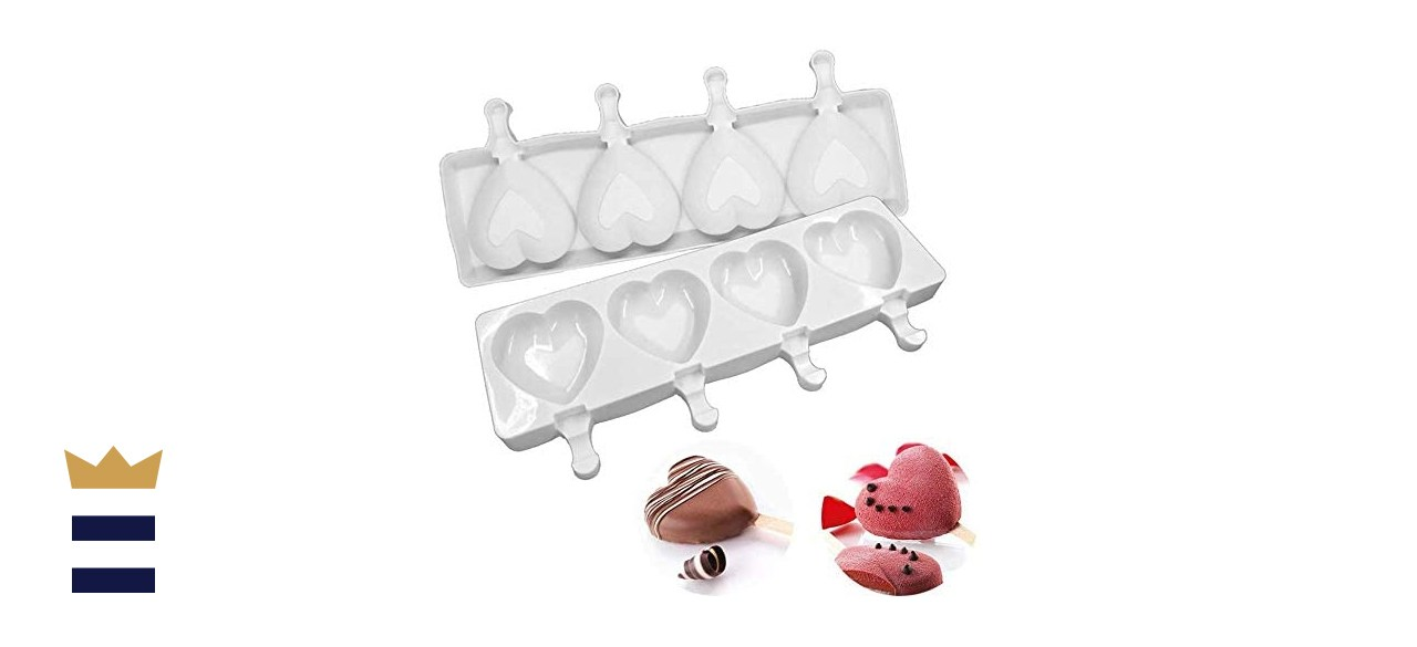 Flowish Store Heart Ice Pop Molds