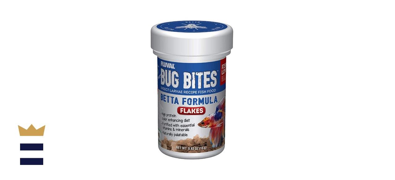 Fluval Bug Bites Color Enhancing Fish Food for Betta Fish