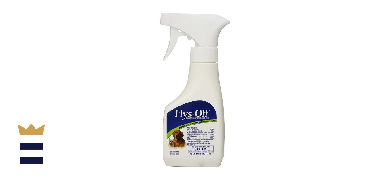 Flys-Off Insect Repellent Spray for Dogs & Cats, 6-oz