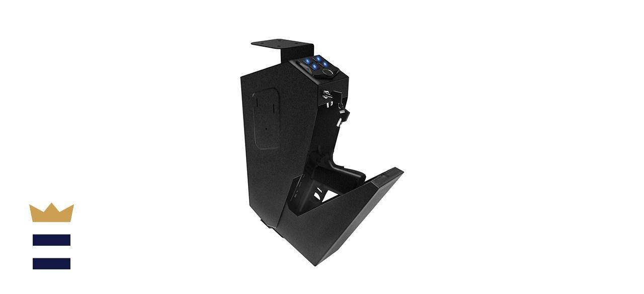 RPNB Mounted Gun Safe with Auto Open Lid Biometric Fingerprint Lock