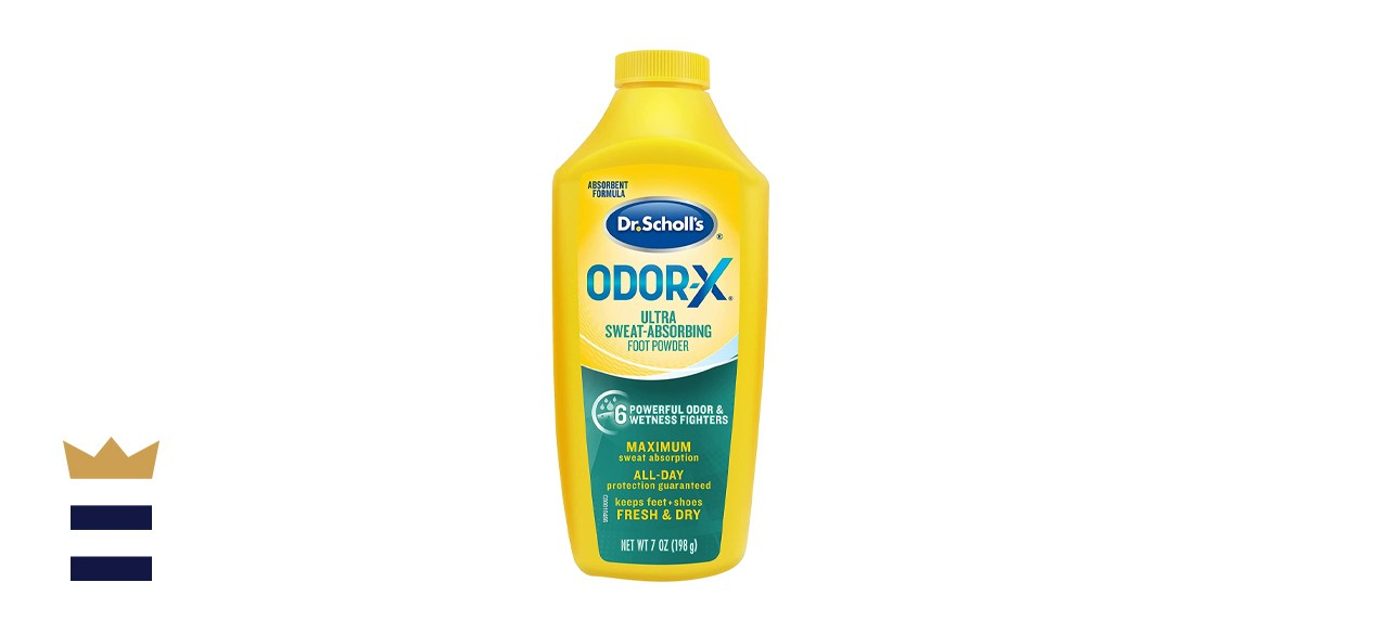 Dr. Scholl's Odor-x Sweat Absorbing Foot Powder
