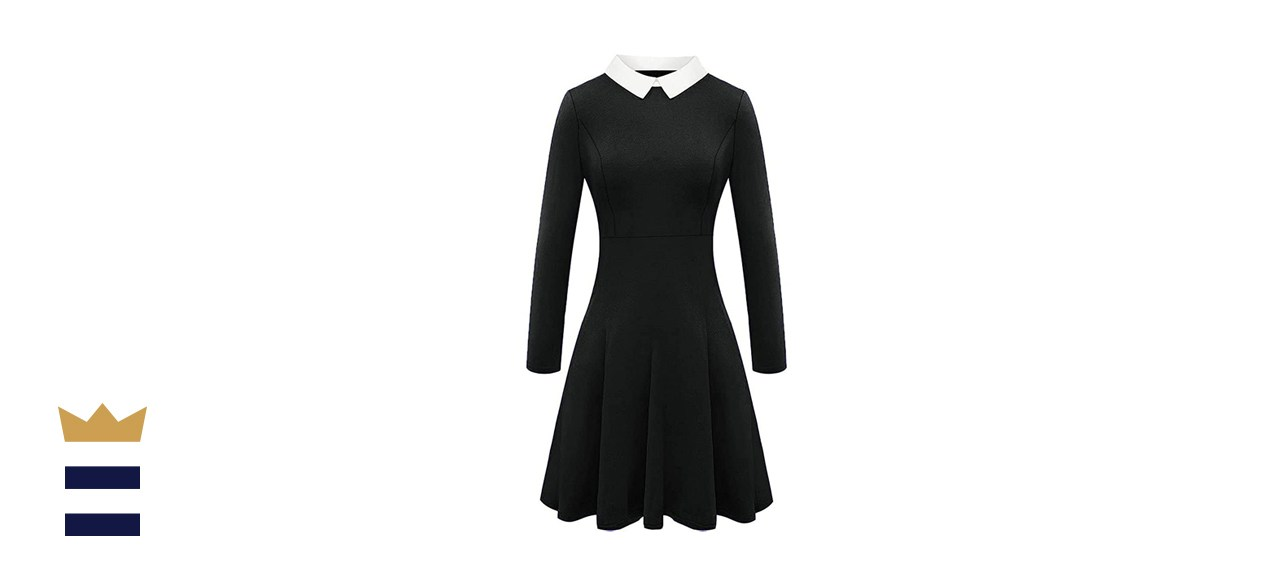 For G and PL Halloween Women's Wednesday Addams Dress