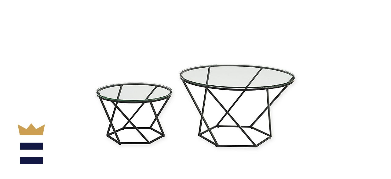 Forest Gate Olivia nesting coffee table set