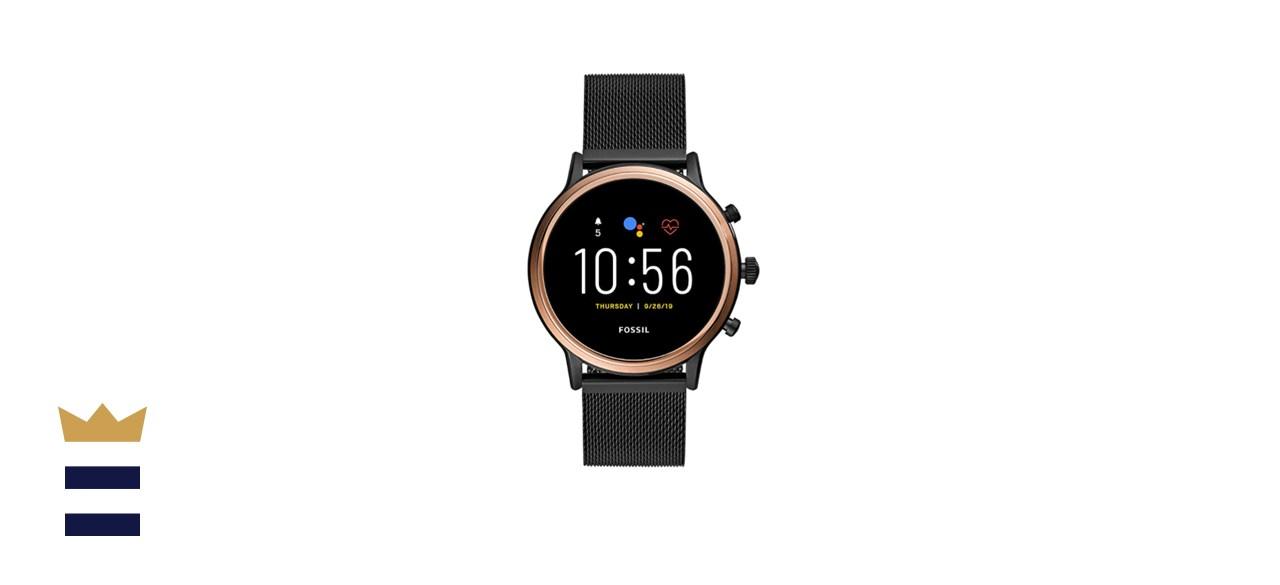 Fossil Gen 5 Julianna Stainless Steel Touchscreen Smartwatch