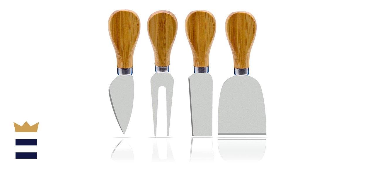 Freehawk 4-Piece Cheese Knife Set