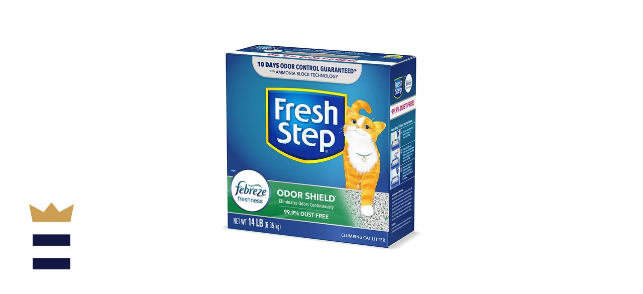 Fresh Step Scented Litter with Febreze Odor Shield