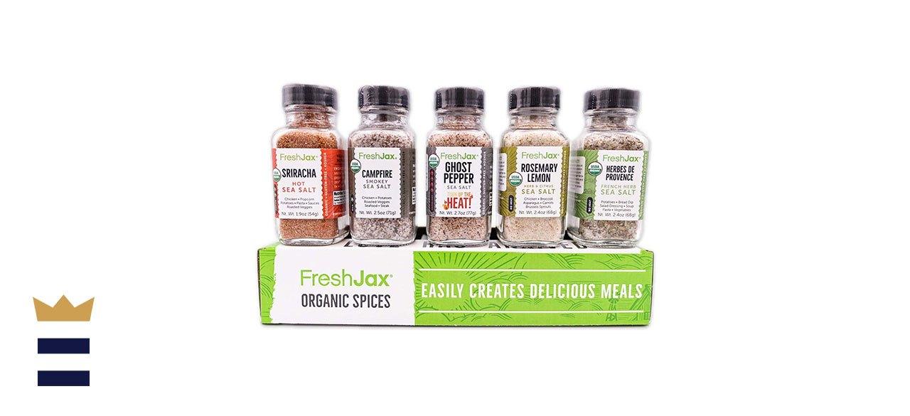 FreshJax Seasoned Sea Salts Gift Set