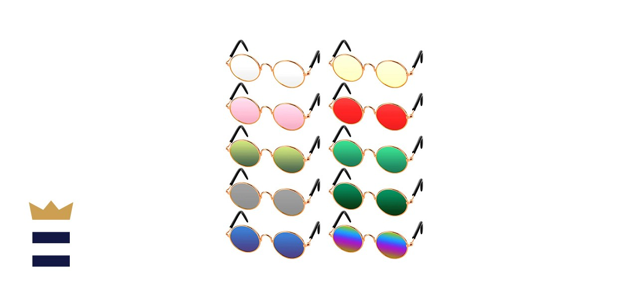 Frienda Retro Pet Sunglasses