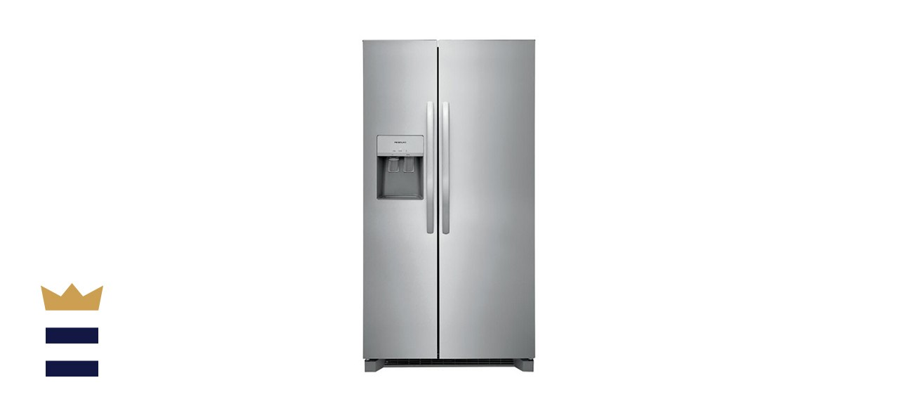 Frigidaire 25.6 Cubic Foot Standard Depth Side by Side Refrigerator