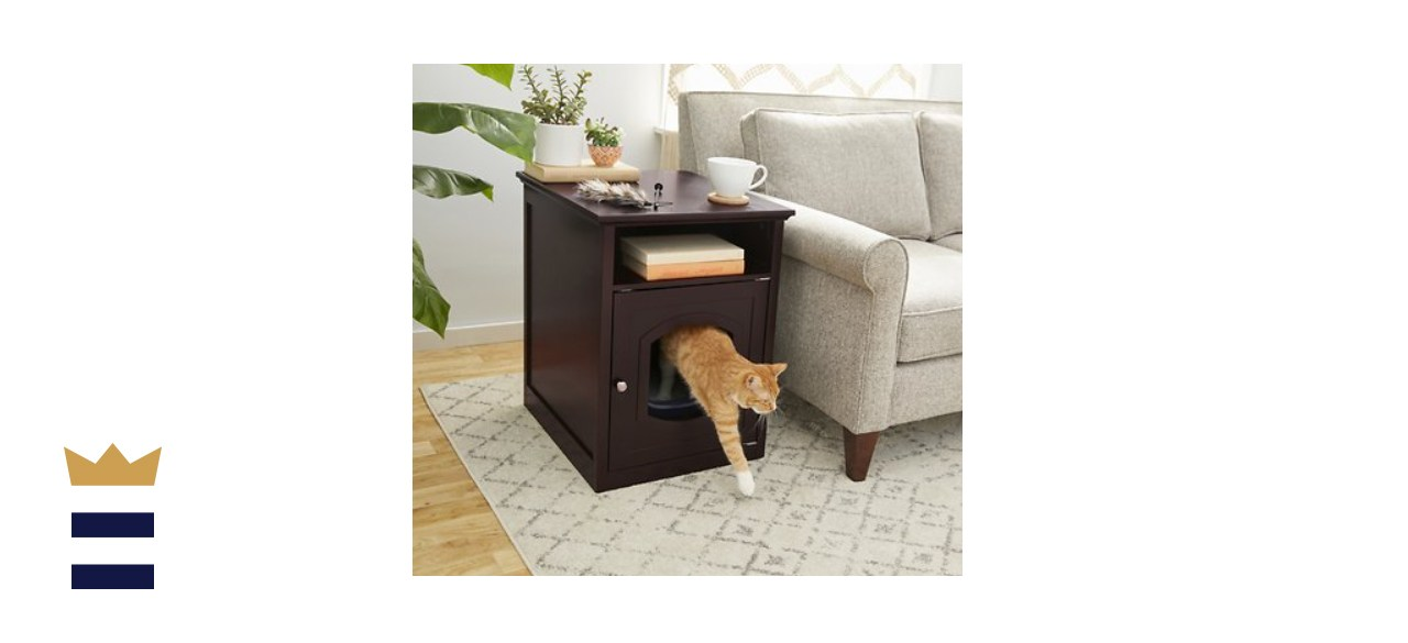 Frisco Decorative Side Table Cat Litter Box Cover